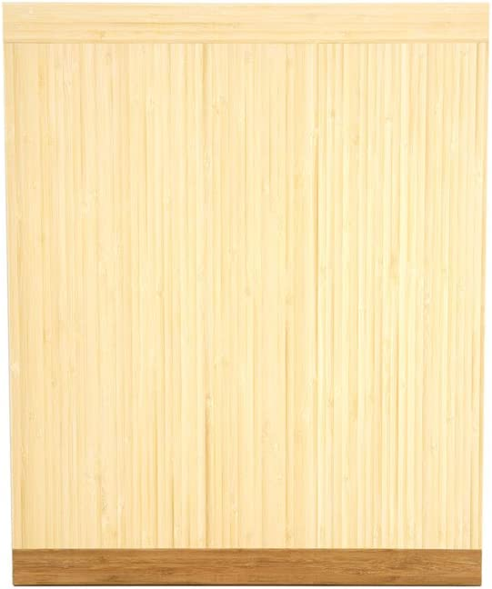 Amazon Com Pureboo Premium Bamboo Pull Out Cutting Board 8 Different Sizes To Fit Most Standard Slots Kitchen Dining