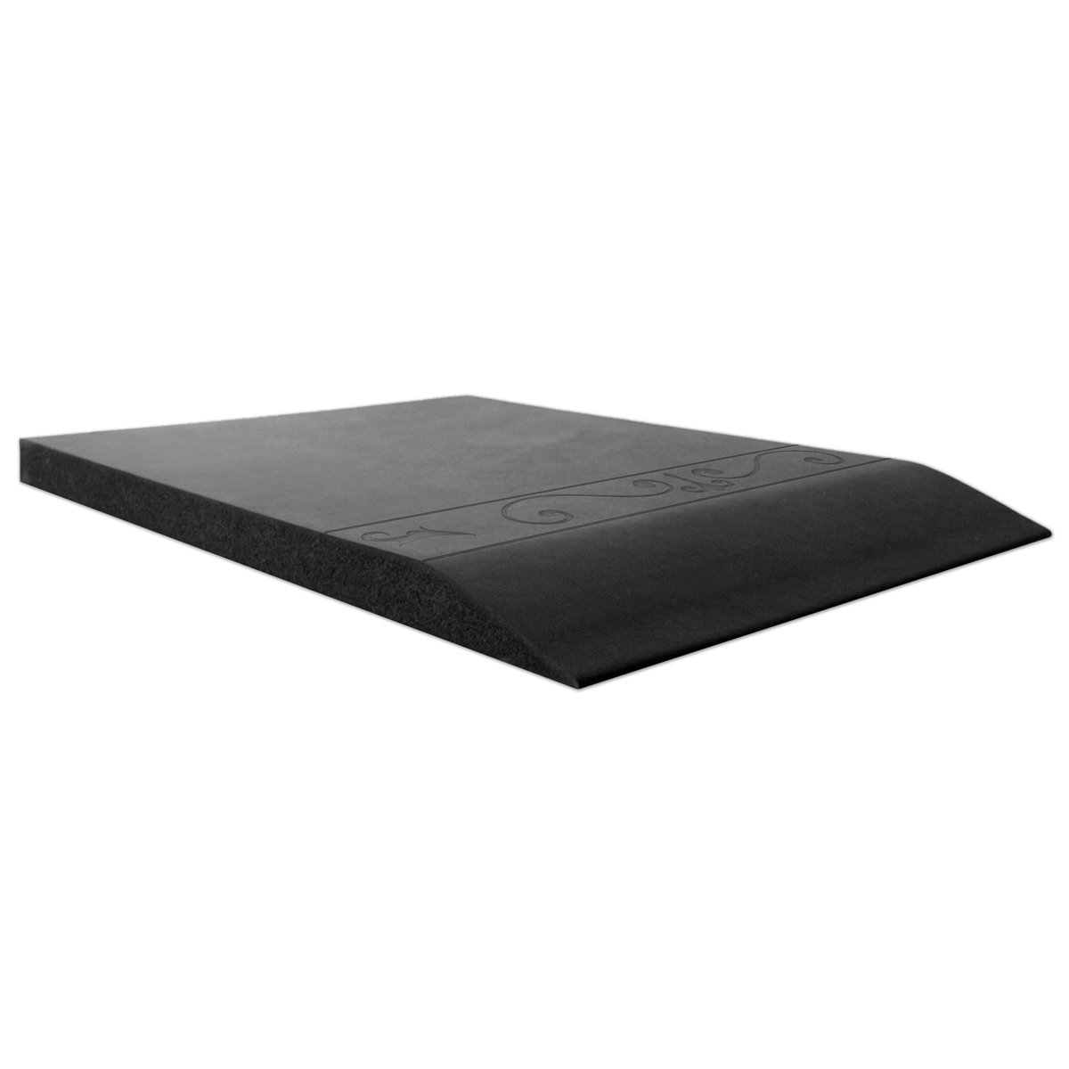 Smart Step Home Collection Fleur-de-Lys Design Mat, 72-Inch by 20-Inch, Black by Smart Step Therapeutic Flooring (Image #4)
