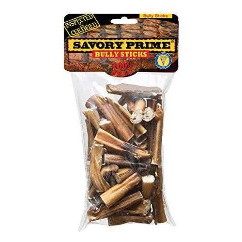 Savory Prime 310 Bully Stick Bites Dog Treats, 10 oz