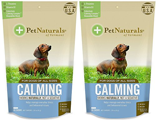 Pet Naturals Calming for Dogs, Natural Behavior...