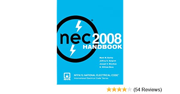Nfpa 70 national electrical code nec handbook 2008 edition nfpa 70 national electrical code nec handbook 2008 edition national fire protection association nfpa ebook amazon fandeluxe Gallery