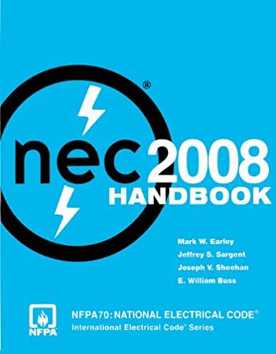 nfpa 70 national electrical code nec handbook 2008 edition rh amazon com National Electric Code Conduit Fill National Electric Code Artical 90.3
