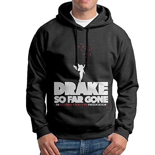 Drake So Far Gone College Pullover Man's Black