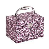 Mele & Co. Josie Girl's Musical Ballerina Jewelry Box with Leopard Design