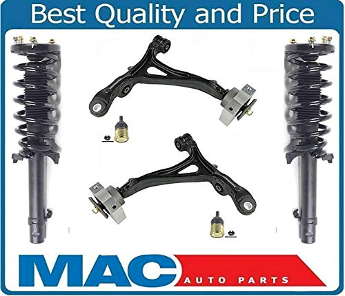 (Mac Auto Parts 157759 Front Complete Struts Front Lower Control Arms & Ball Joints Fits For Acura TL SH-AWD)
