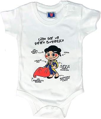 ZiNGS Camiseta Body de Torero para bebé - 12 Meses: Amazon.es: Ropa y accesorios