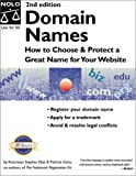 img - for Domain Names: How to Choose & Protect a Great Name for Your Website book / textbook / text book