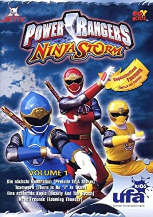 Power Rangers - Ninja Storm 01, Folgen 01-04 Alemania DVD ...