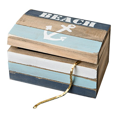 Fashioncraft Anchor Hinged Trinket Box