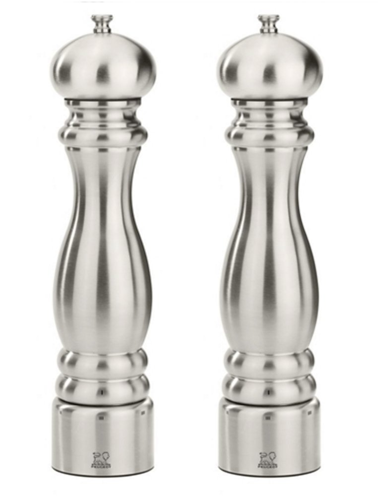 Peugeot Paris Chef u'Select Stainless Steel 12'' Pepper & Salt Mill Set