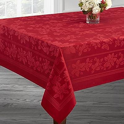 RED, 18 X 18 Napkins Set of 4 Benson Mills Holiday Elegance Engineered Jacquard Christmas Napkins