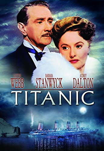 Amazon.com: Titanic (1953): Clifton Webb, Barbara Stanwyck