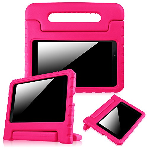 Fintie LG G Pad F 8.0 / G Pad II 8.0 Kiddie Case - Shock Proof Convertible Handle Stand Kids Friendly [Fit AT&T Model V495 / T-Mobile V496 / US Cellular UK495 / G Pad 2 8.0 V498] 8