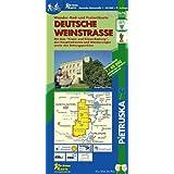 Deutsche Weinstraße: Wander-, Radwander- und Freizeitkarte, Maßstab 1 : 40.000