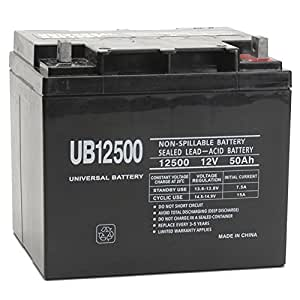Universal Power Group 12 Volt 50Ah UB12500 UPS Battery Replaces 45Ah Kobe HF44-12