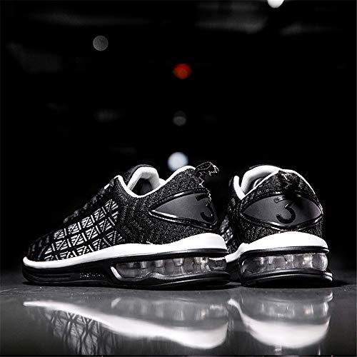 Athltiques Air Hommes Femmes Sports Noir2 De Chaussures Baskets shmr6099 Casual Semelle Cushion Respirant Confort Course wHYYZqx7