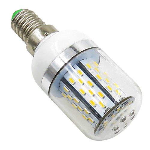 Pack 2,E14 LED Light Bulb 12V-24V AC/DC 3.5W 380 Lumen 78PCS 3014 SMD Explosion proof Daylight Light Warm White 3000K