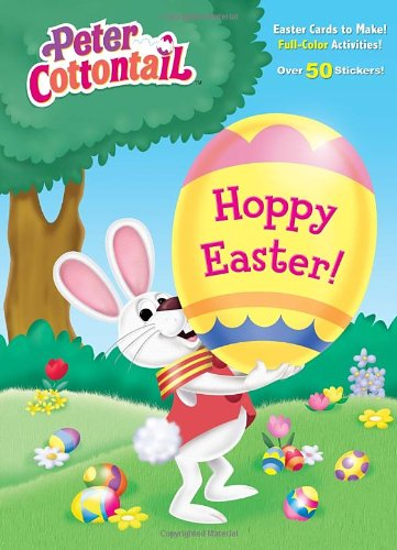 Hoppy Easter! (Peter Cottontail) (Full-Color Activity Book With Stickers)