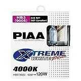 PIAA 19615 HB3-9005 Style Xtreme White Plus 60=120-Watt Bulb, Twin Pack