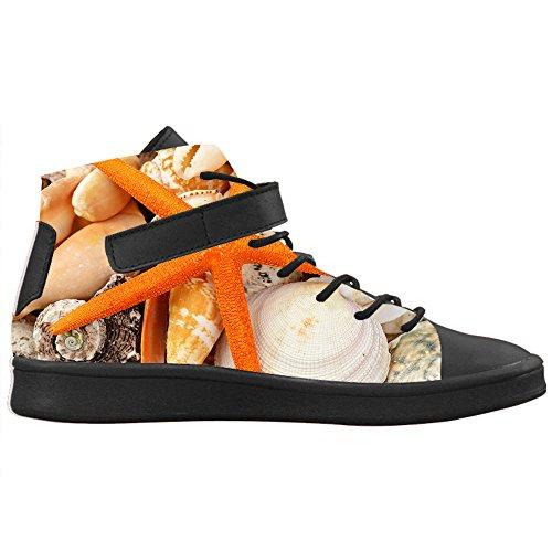 Alte Colletto Stella Fresco Lyra Con Cheese Stile Round E Design Traspirante Di Caviglia Alla Nero Toe Sneakers Pesce Personalizzato Donna Scarpe TTxOz0