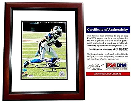 Image Unavailable. Image not available for. Color  Steve Smith Autographed  Signed Carolina Panthers action 8x10 Photo Mahogany Custom Frame ... 1d9ebd99d
