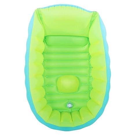 Bañera de bebé, bañera inflable para bebés Ducha plegable para ...
