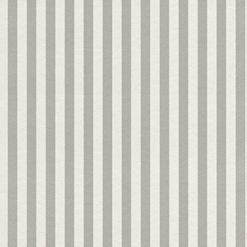 Rasch Textil 288956 Petit Fleur 4/Strictly Stripes 6 nonwoven, 10,05 x 0,53 m