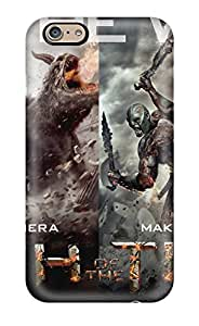High Grade CaseyKBrown Flexible Tpu Case For Iphone 6 - Wrath Of The Titans 2012
