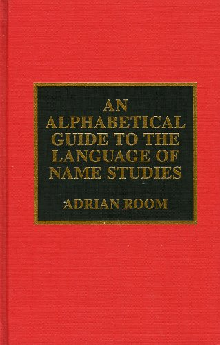 An Alphabetical Guide to the Language of Name Studies (Filmmakers; 48) by Brand: Scarecrow Press
