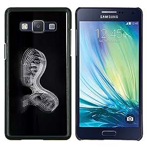 EJOOY---Cubierta de la caja de protección para la piel dura ** Samsung Galaxy A5 A5000 ** --Mecánica Abstract