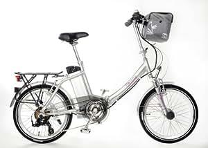 Certificado TÜV y bicicleta eléctrica–36V 15Ah Batería, 20pulgadas Pedelec de bicicleta plegable UVP: 2595,00Euro, color plata: 36V 15Ah Batería & # x2714; alcance de 150KM & # x2714; Top Servicio al Cliente