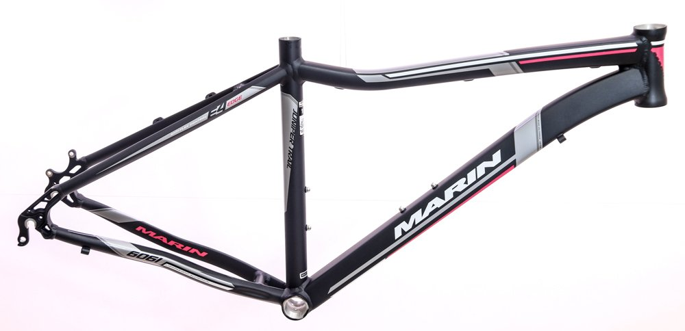 17'' MARIN JUNIPER TRAIL Women's 26'' Hard Tail Bike Frame Alloy Black NOS NEW