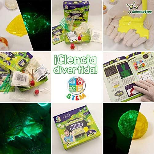 Science4you - La Ciencia del Slime - Brilla en la Oscuridad ...