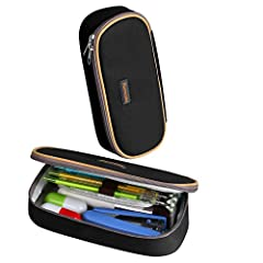 Good to Know This pen case keep your contents organized and easy to find while still having the capacity, useful tool for you. Unit is sold as single Pencil Case. Pens and pencils (pictured) are not included. Internal Structure of Pencil Case...