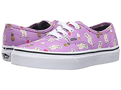 vans authentic violet