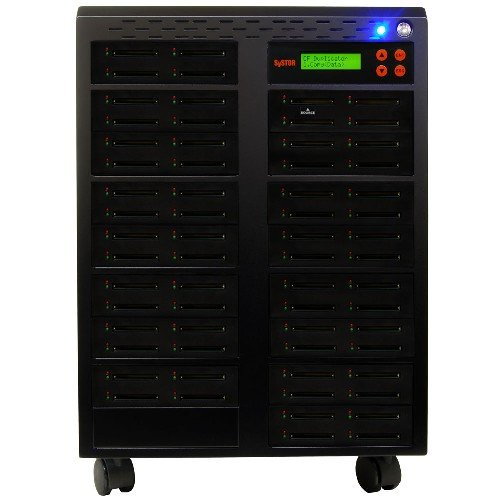 Systor 1 to 63 Multiple Compact Flash CF Memory Card Duplicator / Drive Copier - (Backup Sys Usb)