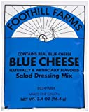 Foothill Farms Blue Cheese Dressing Mix, 3.4 Ounce - 18 Case