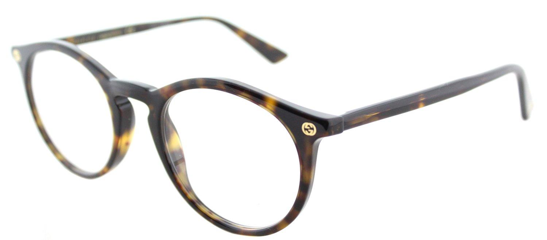 Eyeglasses Gucci GG 0121 O- 002 002 AVANA / AVANA