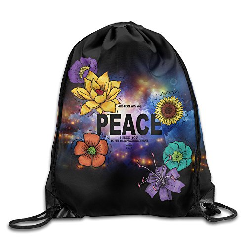 Maurm Peace 2017 New Style Drawstring Bags Cool Backpack Shoulder Bags Gym Sport - Couture Bag Daydreamer Juicy