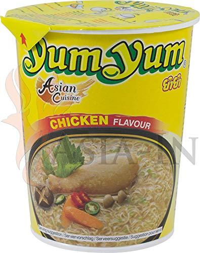 Noodles sabor Pollo - Fideos orientales sabor a Pollo Yum Yum 12x70g: Amazon.es: Alimentación y bebidas
