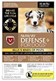 Nutri-Vet Wellness K9 Defense Plus for Dogs Flea and Tick Repellents