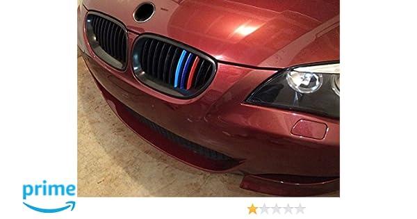 BizTech /® Parrillas de coche Inserciones Rayas decoraci/ón para BMW 3 Serie E46 2001-2004 11 rejillas M Power M Sport Tech