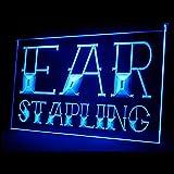 100014 Ear Stapling Tattoo Piercing Body Art Display LED Light Sign
