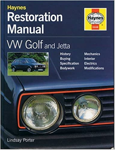 VW Golf and Jetta Restoration Manual (Restoration Manuals): Lindsay Porter: 9781859604489: Amazon.com: Books