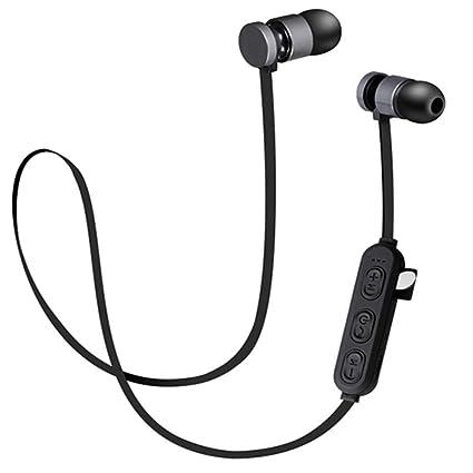 Rabbfay Auriculares Bluetooth con Ranura para Tarjeta TF SD ...