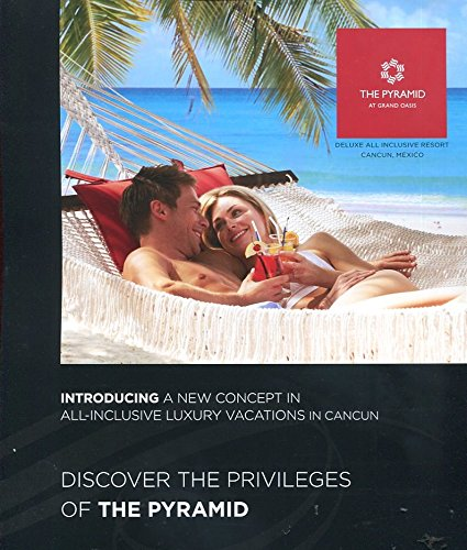 THE PYRAMID AT GRAND OASIS CANCUN MEXICO BROCHURE /ALL-INCLUSIVE