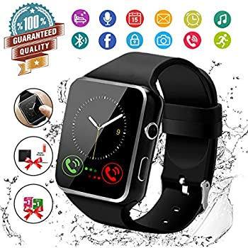 Amazon.com: Smart Watch with Camera - Bluetooth Smartwatch ...