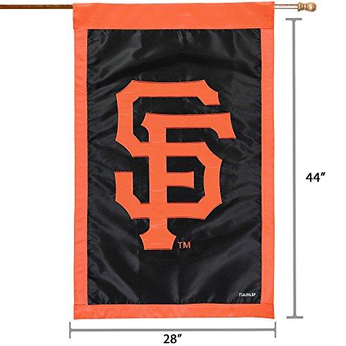 Stockdale San Francisco Giants PV EG Premium 2-sided BANNER Applique Embroidered Flag Baseball