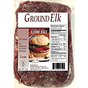 Well-Being-Matters 51499fBlTGL._SS300_ 100% Ground Elk 10- 1 lb packs (total 10 lbs)