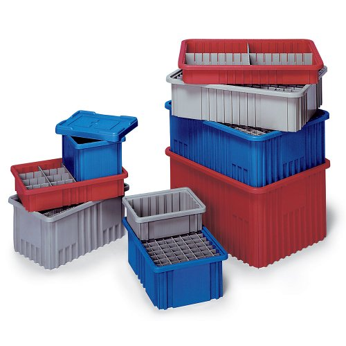 Quantum Label Holders For Dividable Grid Clearview Containers - 8
